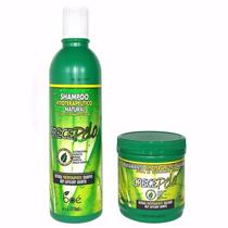 Lote Atacado Kit Crecepelo Shampoo E Mascara Pequena Jaque