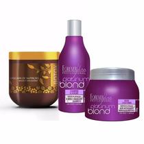 V1 Btox 500g + Shampoo + Máscara Roxa ! Forever Liss