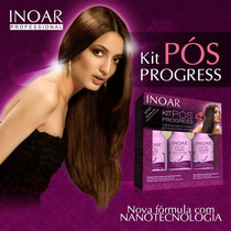 Kit Inoar Pós Progressiva 3 X 250 Ml