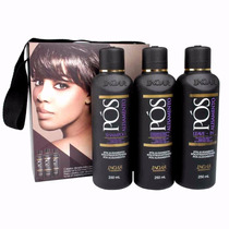Kit Pós Alisamento Inoar 3 X 250 Ml