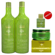 Inoar Argan Oil System Home Kit