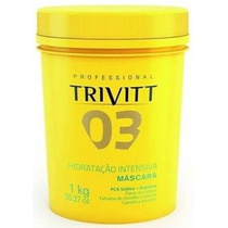 Itallian Color Máscara De Hidratação Intensiva Trivitt - 1kg