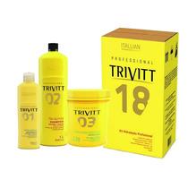 Itallian Trivitt Kit Hidratação Profissional - 3 Produtos