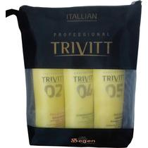 Kit Manutenção Trivitt Profissional Itallian Color + Nf-e