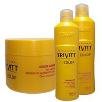 Itallian Hair Tech Trivitt Color Kit Trio