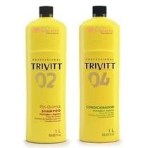 Trivitt Profissional Shampoo E Condicionador 1l+ Nota Fiscal