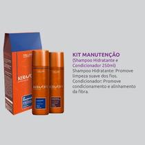 Kit Manutenção Shampoo + Condicionador Kerasoft 250ml