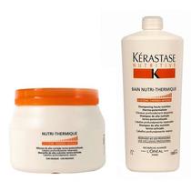 Kit Kérastase Nutrithermique Máscara 500g + Shampoo 1 Litro