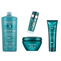 Kérastase - Thérapiste - Kit Soin/shampoo/máscara/sérum