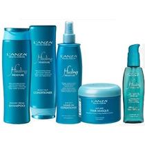 Kit Lanza Heal Moisture Shampoo+condic.+leave+máscara+serum
