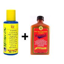 Óleo De Argan Pracaxi Oil 60ml + Shampoo Rejuvenescedor
