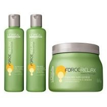 Kit Loreal Force Relax (shmp+condc300ml +masc 500ml)