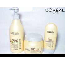 Loreal Kit Absolut Repair Cellular Shampo Cond E Mask