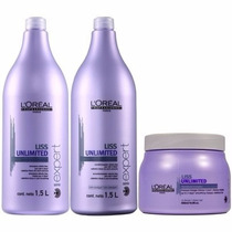 Kit Liss Unlimited Shampoo,condicionador E Máscara Grandes