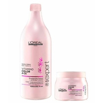 Loreal Vitamino Color Aox Shampoo 1500ml + Máscara 500g