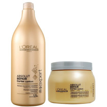 Loreal Absolut Repair Lipidium Shampoo 1500ml+ Mascara 500ml