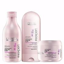 Loreal Vitamino Color Aox Shampoo + Condicionador + Máscara
