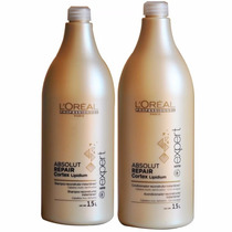 Kit Loreal Absolut Repair Shampoo 1,5l + Condicionador 1,5l