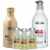 Kit Loreal Profissionnel Fiberceutic P/cabelos Finos