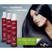 Kit Shampoo Condicionador E Leave In Maribel 300 Ml