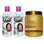 G.hair - Zup! Escova Progressiva 2 Passos+banho Verniz 1k