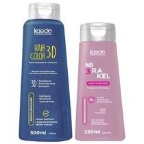 Kaedo Hair 3d Color Matizador E 3mirakel Com Perola E Caviar
