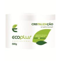 Cristalização Com Óleo De Argan - Ecoplus - Obeleza