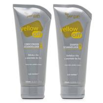 Kit Shampoo E Condicionador Desamarelador Yelow Off - Yenzah