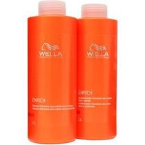 Wella Professionals Kit Enrich - ( Shampoo E Cond 1000ml )