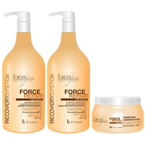 Forever Liss Force Repair Kit Reconstrução - Shopdoscabelos