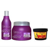 Forever Liss Platinum Blond Kit Matizador + Lola Girl Creme
