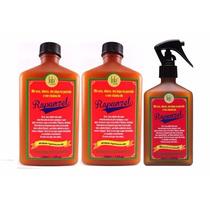 2- Shampoo Rejuvenescedor Rapunzel+ 1- Tônico De Crescimento