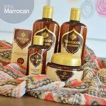 Kit Marrocan Shampoo, Condicionador Mascara E Óleo