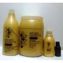 Kit Profissional Natural Golden Oil Varcare - 4 Produtos