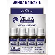 Ampola Matizante Violeta Capicilim 20ml Display Com 12un