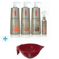 Red Iron Kit Cauterização (plástica Capilar) Duo 4 Itens