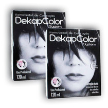 Kit Decapagem Capilar Dekapcolor 120ml 02 Caixas