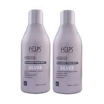 Kit Shampoo,condicionador 300ml Desamarelador Platinum Felps