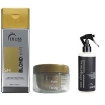 Kit Truss Blond Hair Shampoo + Mascara + Uso Obrigatorio