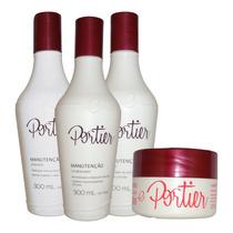 Portier Fine Kit Manutenção - 4 Produtos Fine Profission