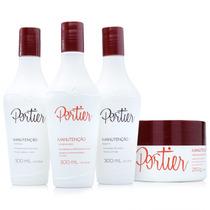 Portier Fine Kit Manutenção Completo Pós Progressiva +brinde