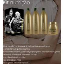 Kit Nutrição Reconstrutor Probelle 4 Produtos Divino!!!
