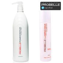 Keratina Cauterização 1l + Shampoo 250ml Lumino Max Probelle