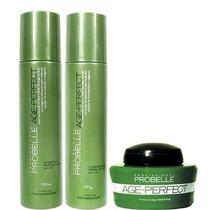 Kit Age Perfect Probelle Shampoo+condicionador+mascara