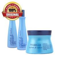 Shampoo + Condicionador + Máscara Explosão Cachos - Probelle