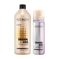 Shampoo 1l + Condicionador Blond Idol Cabelos Loiros Redken
