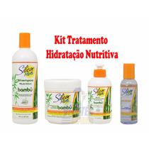 Kit Hidratação Silicon Mix Bambu * Cabelos Lindos E Fortes *