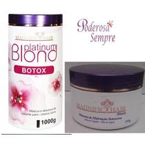 Botox Platinum Blond + Mascara Magnific Hair Frete Gratis