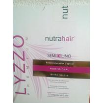 Semi Di Lino Premium Nutra Hair C/ 12 Ampolas
