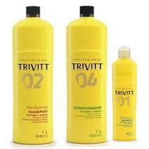 Trivitt Profissional Kit De Hidratação C/ 3 Produtos